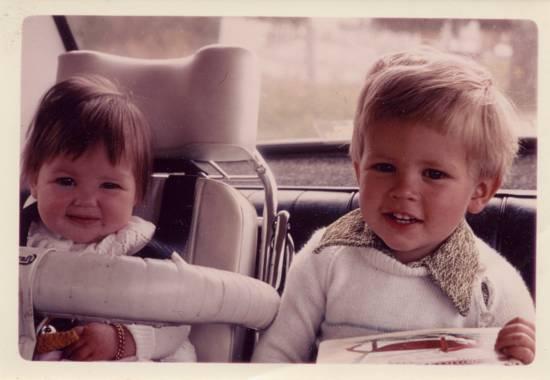Stephen & Alona Phillips - December 1973