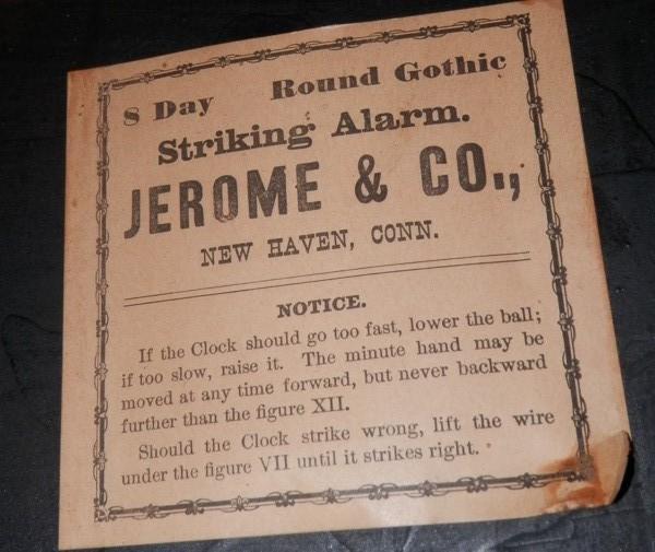 Jerome & Co Mantle Clock