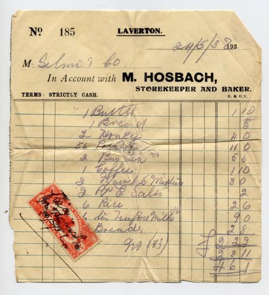1932-05-24 store supplies