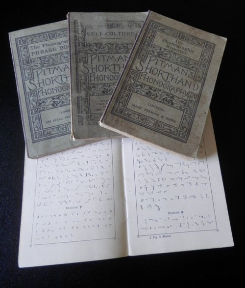 Pitman's Shorthand or Phonography books