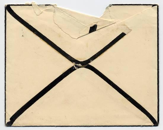 Return Thanks - envelope back Dec 1926