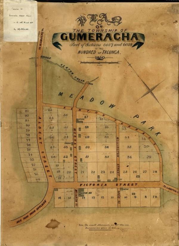 Gum Map 1860