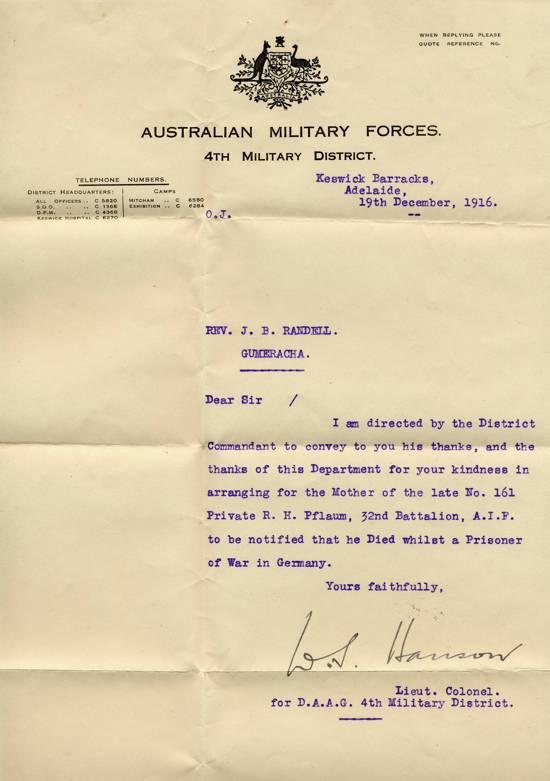 letter 1916