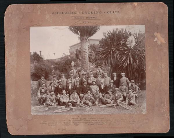 Adelaide Cycling Club 1898 small