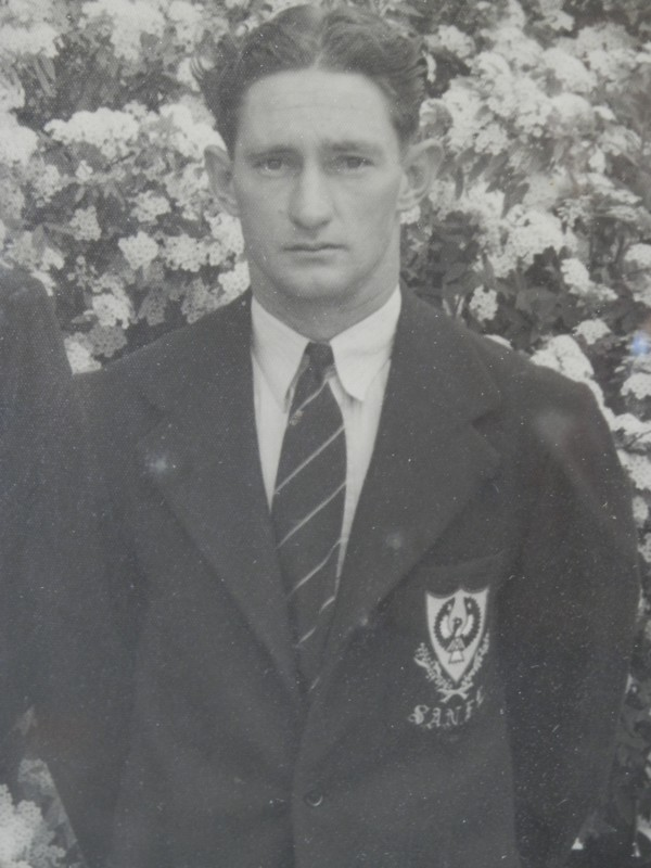 Ron Phillips, South Australian State Football Team, 1948