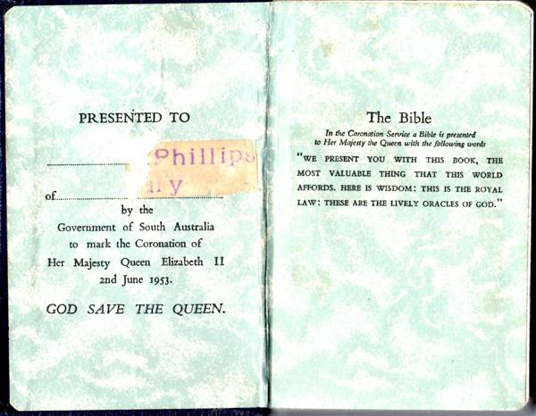Coronation Bible 2