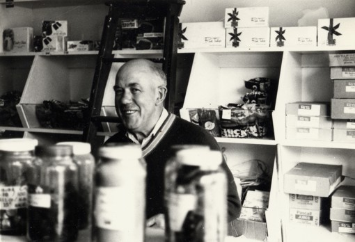 Pete Randell in his Rundle Street shop