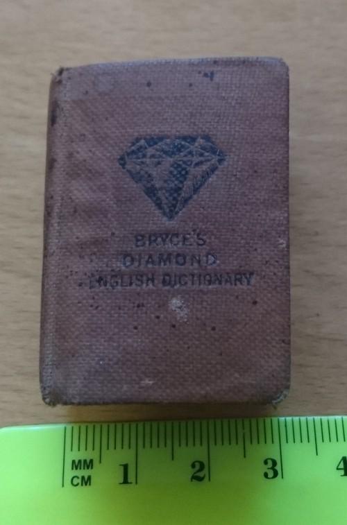 Bryce's Diamond Dictionary #1