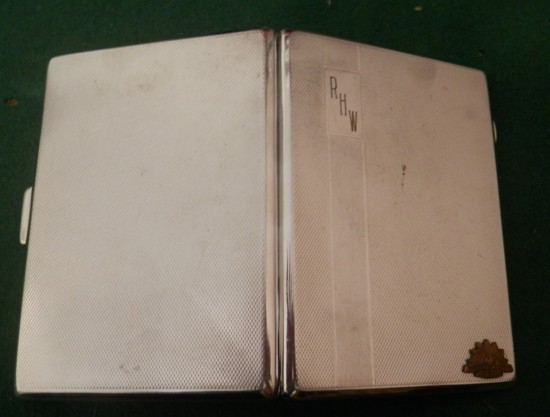 vintage AIF cigarette case