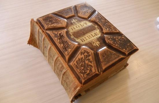 the giant Randell Family Bible