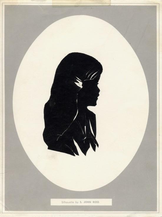 Silhouette of Alona