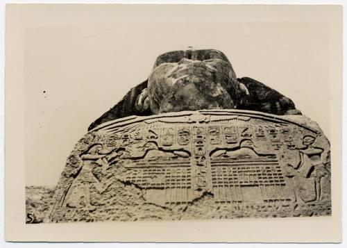 Sphinx Egypt 1941 WW2 - front