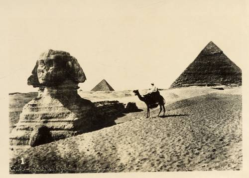 Sphinx Egypt 1941 WWII - front