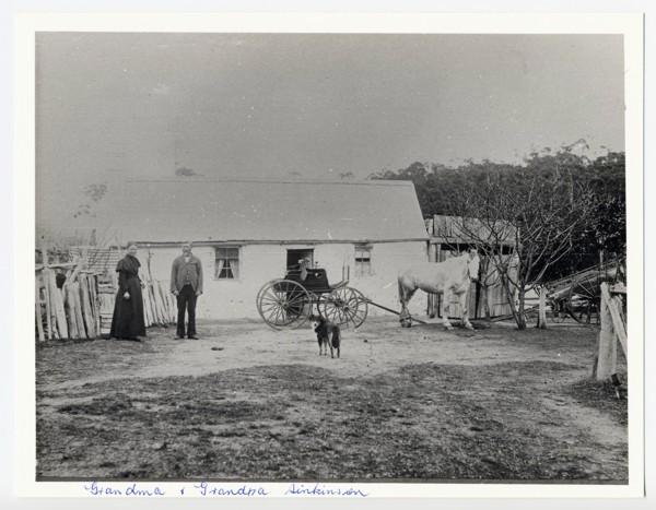 Ebenezer Sinkinson & his wife Lydia