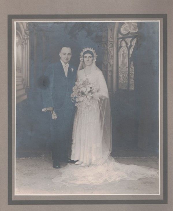 Bert Butler & May Randell wedding