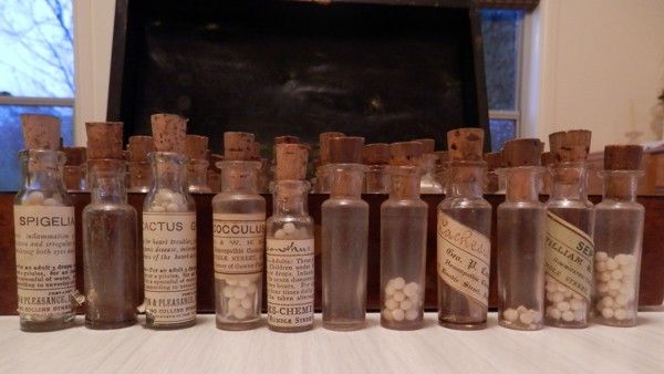 Homeopatic bottles