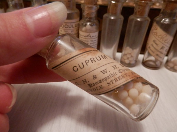 Homeopathic bottles
