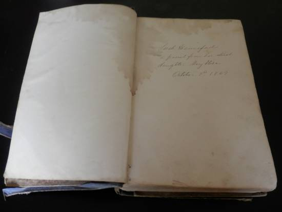 the opening pages