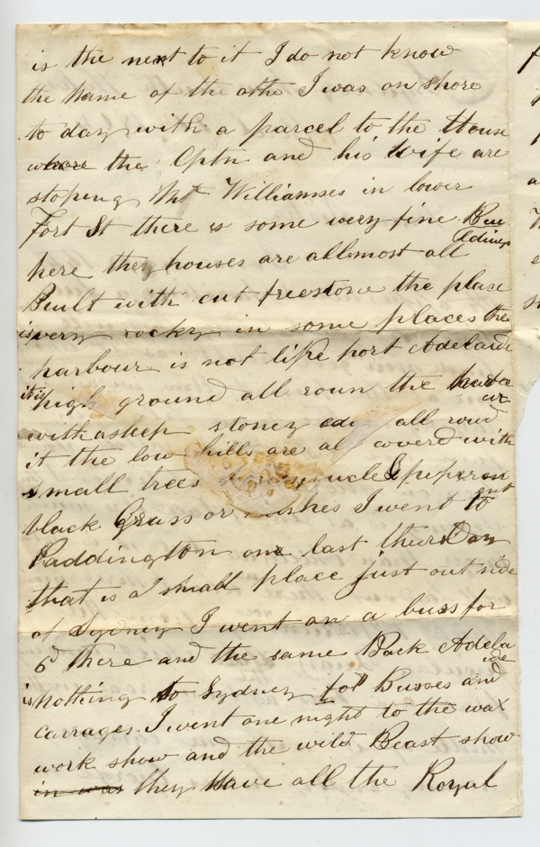 letter - Abner Robbins to sister Phebe Robbins 1864-04-26 page 2