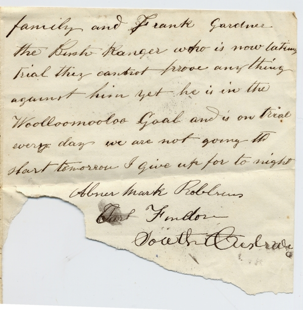 letter - Abner Robbins to sister Phebe Robbins 1864-04-26 page 3