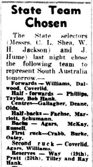The Advertiser, Friday 1 July 1949, Page 11http://nla.gov.au/nla.news-article36674039