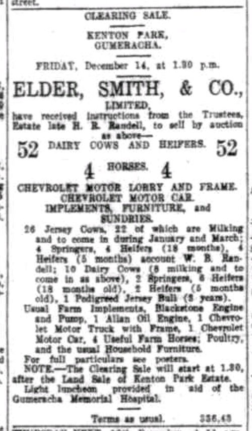 Advertising. (1928, December 8). The Register (Adelaide, SA : 1901 - 1929), p. 16. http://nla.gov.au/nla.news-article53612414